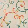 Rinascimento Avorio Smalto Colorato 60x60