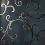 Rinascimento Ebano Acciaio Rame 60x60