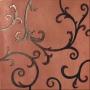 Rinascimento Rame Acciaio Rame 60x60