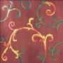Rinascimento Rubino Smalto Colorato 60x60