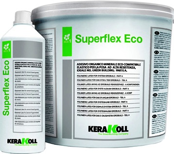 Клей SUPERFLEX Eco белый 8 кг