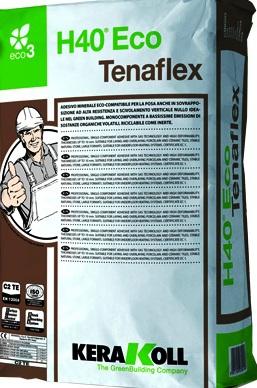 Клей H40 Eco Tenaflex серый 25 кг